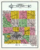 Polk County Map, Polk County 1914